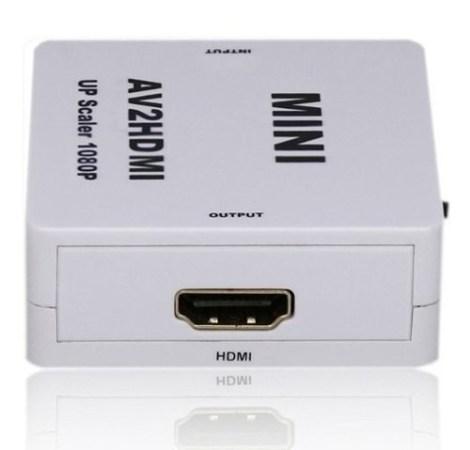 Mini Adaptador Convertidor Señal Hdmi – Rca Audio Y Video