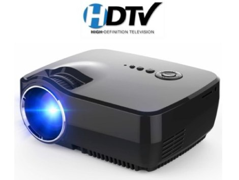 Mini Proyector Profesional Led Tv Digital Full Hd 1600 Lumen en Web Electro