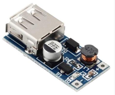 Módulo Elevador De Voltaje Pfm Dc-dc 0.9v-5v A 5v Usb