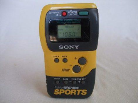 Radio Am-fm Sony Walkman Sports Mod Srf-m70 Cronometro Reloj en Web Electro