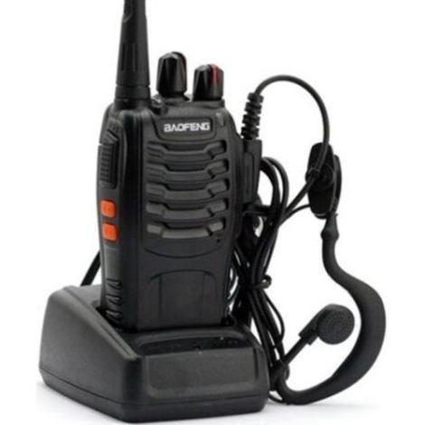 Radio Walkie Talkie  Baofeng Bf-888s Delux  5 A 10 Km 16 Ch en Web Electro