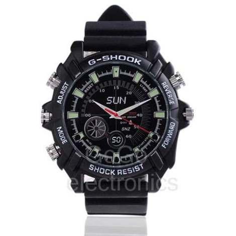 Reloj Espia Full Hd Camara Vision Nocturna 8gb Video Y Audio en Web Electro