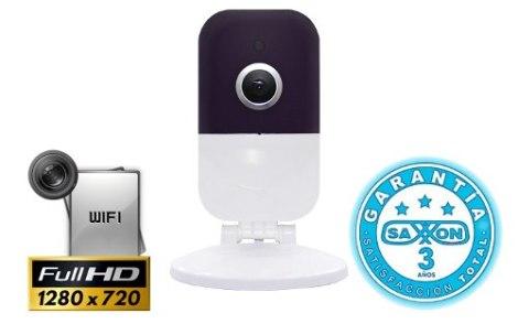 Saxxon Lcfx272wf Mini Camara Ip 720p Wifi Audio Bidirecciona en Web Electro