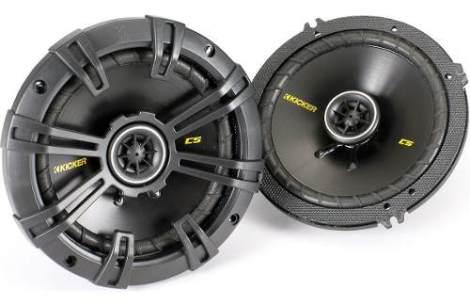Set De Bocinas Kicker Cs65 6.5 300w Max + Q Ds65 Dsc65