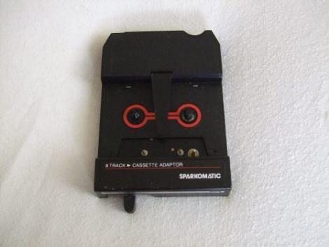 Sparkomatic Pa 18337 Adaptador De 8 Tracks Cassette Vintage en Web Electro