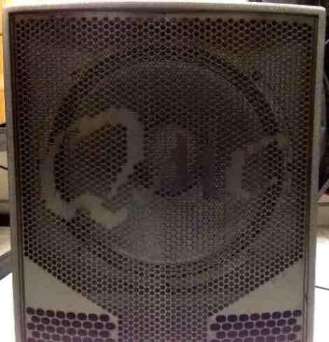 Subwoofer Activo De 18  Qmc600 De Backstage 800w Peak en Web Electro
