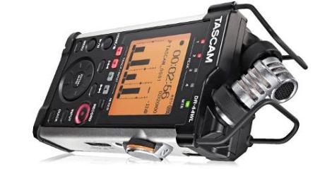 Tascam Dr-44wl Grabadora Digital Wi Fi De Audio Profesional en Web Electro