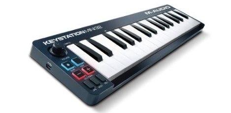 Teclado M-audio Keystation Mini 32 Usb Midi Synth – Negro en Web Electro