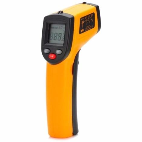Termómetro De Pistola Infrarrojo Gm320 -50-330 °c en Web Electro
