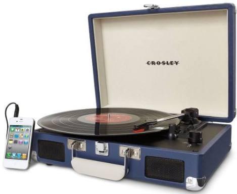 Tornamesa Crosley Tocadiscos De Vinyl Tipo Maletín en Web Electro