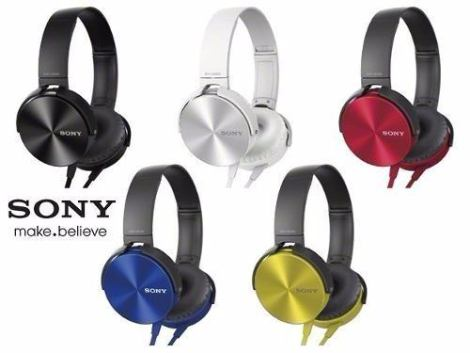Audifono Sony Mod. Mdr-xb450 Extra Bass/manos Libres/control