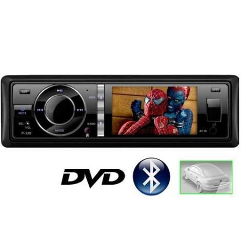 Autoestereos Vak P320 Dvd Bluetooth Pantalla 3' Usb Sd Aux