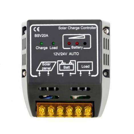 Controlador De Carga 20-a Regulador en Web Electro