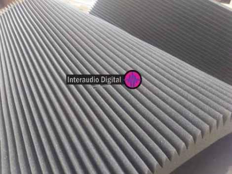 Espuma Acústica Panel De Peine 2m X 1.20 Aislamiento Acustio en Web Electro