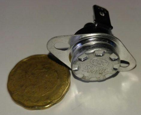 Termostato Bimetalico 145 Grados Manual Reset 2 Piezas en Web Electro