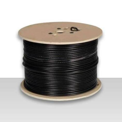 Bobina De Cable Coaxial  Rg-6 305 Mts. Envio Gratis Por Dhl