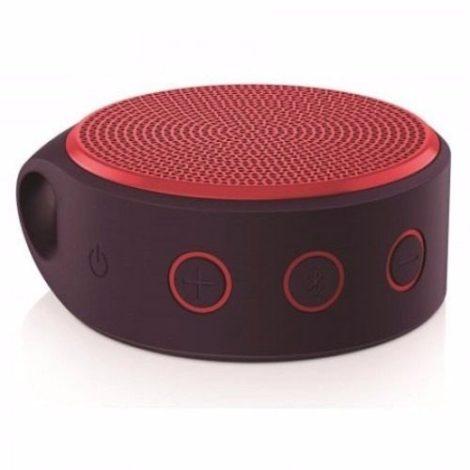 Logitech Bocinas X100 Wireless Bluetooth Roja 984-000389