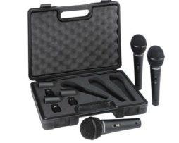 Set 3 Microfonos Dinamicos Alambricos Behringer Xm1800s