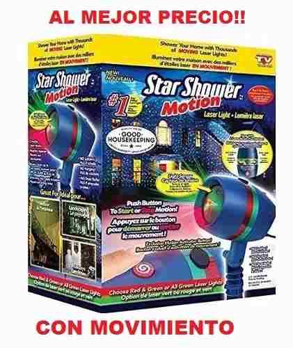 Startastic (star Shower Motion)con Movimiento Para Año Nuevo