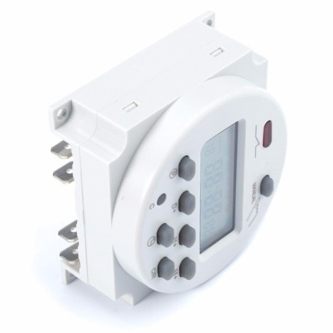 Timer Relay Cn101a Temporizador Digital Acuario Incubadora