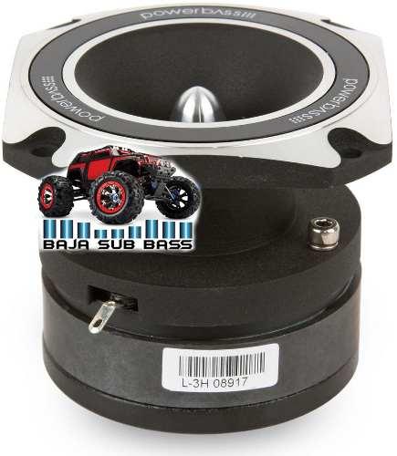 Tweeter Profesional Tipo Bala Car Audio Powerbass L3h