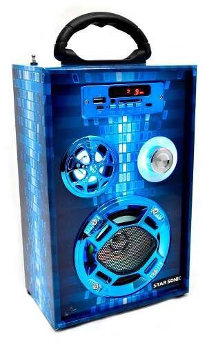 Velikka Bocina Portatil Usb Radiofm Bluetooth Vkk-269bt Azul
