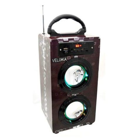 Velikka Bocina Usb Radio Fm Bluetooth Aux Vkk-2026bt Negro