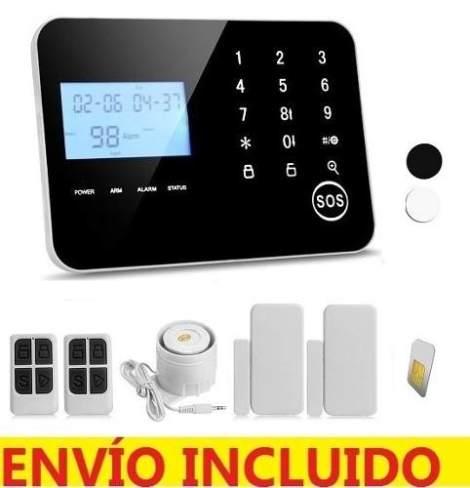 Alarma Casa Negocio Inalambrica Celular Telefónica Touch