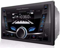 Autoestereo Power Acoustik 2 Din Pl-52b Bluetooth Usb Alpine