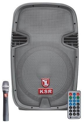 Bafle Amplificado Recargable Bluetooth Microfono Bocina 12