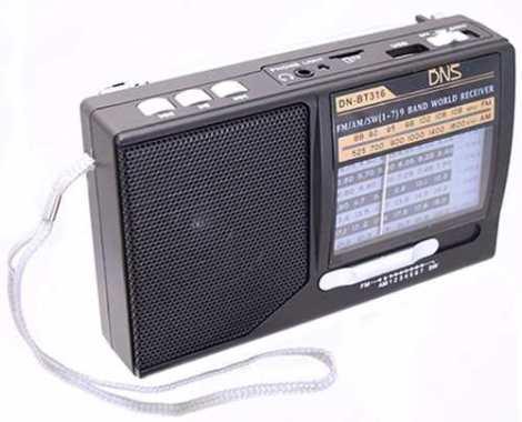Bocina Mini Radio Usb Micro Sd Mp3 Audifonos Am Fm Dn-bt316