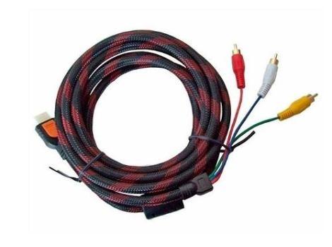 Cable Nylon Reforzado Hdmi A Rca 1.5mt – Te289