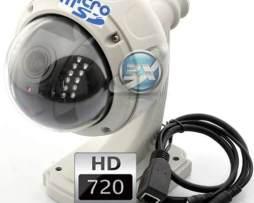 Camara Ip Hd Inalambrica 4x Zoom Domo Vigilancia Exterior