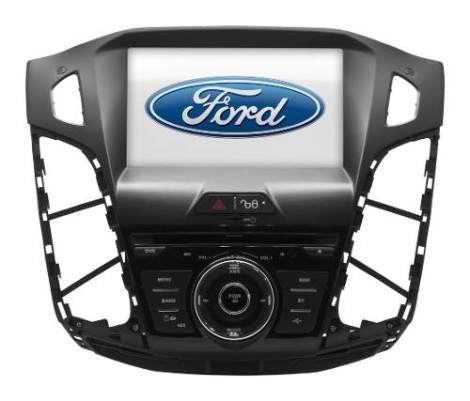 Estéreo Navegador Ford Focus Fiesta Nuevo Gps Bluetooth Dvd