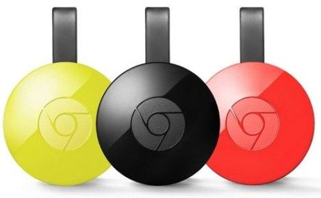 Google Chromecast 2.0 Hdmi Original Nuevo En Caja Sellada