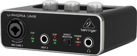 Interface De Audio Behringer 2×2 Usb Um2