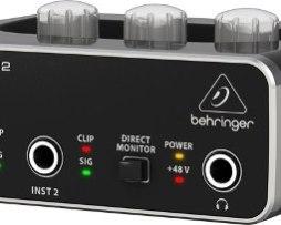 Interface De Audio Behringer 2x2 Usb Um2