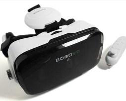 Lentes Vr Box Realidad Virtual Audífonos+control 2017