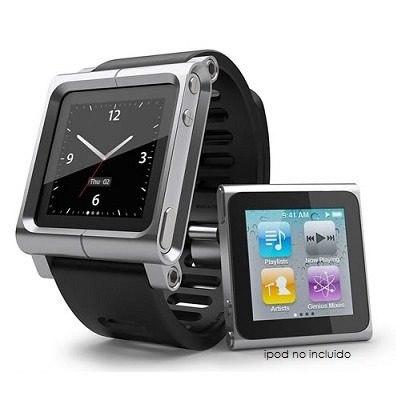 Lunatik Extencible Aluminio Caucho Ipod Nano Touch 6g
