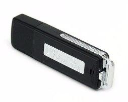 Mini Grabadora De Voz Espia Microfono 8 Gb Usb Envio Gratis