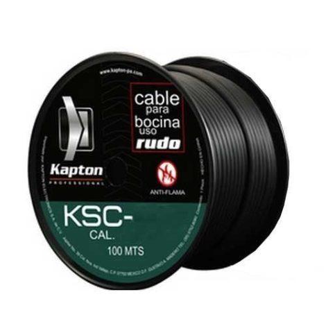 Rollo De Cable Para Bocina Uso Rudo Calibre 14