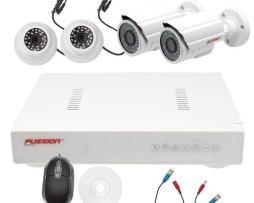 Sistema Vigilancia Internet 4 Camaras Hd De Seguridad