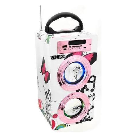 Velikka Bocina Usb Radio Fm Bluetooth Aux Vkk-2026bt Maripos
