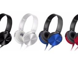Audífonos Negros Sony Mdr-xb450ap Originales Manos Libres