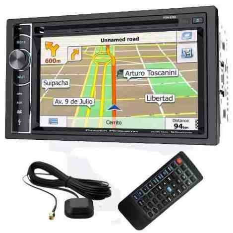 Autoestereo Power Acoustik Pdn-626b Bluetooth Gps Android