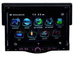 Autoestereo Soundstream 735 Hd 7' Dvd Camaleón Usb Bluetooth