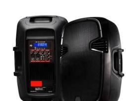Bafle Bocina Bi Amplificada 6000w  Con Usb Sd Y Micro Gratis