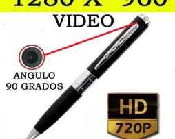 Elegante Pluma Con Cámara Espía Minidv 1280 X 960 Video Real