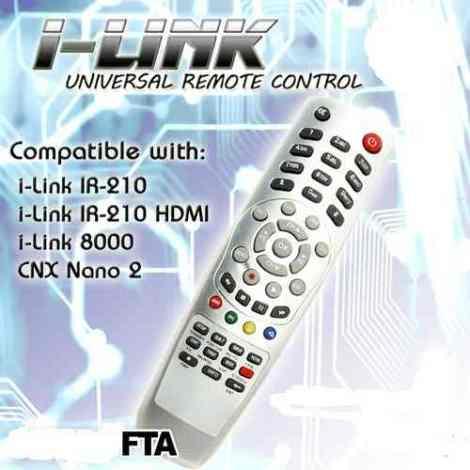Ilink Ir 210 Control Remoto Nuevo Fta