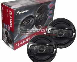 Juego De Bocinas C/tweeter 6.5 Pioneer Ts-a1685s 350w 4 Vías